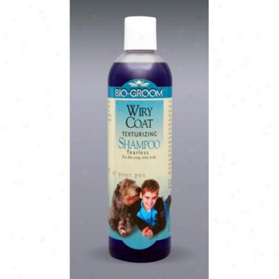 Bio-groom Wiry Coat Shampoo, 12 Oz Concentrate 4:1