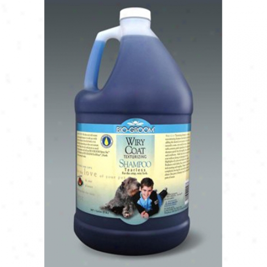 Bio-groom Wiry Coat Shampoo, Gallon Concentrate 4:1