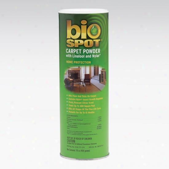 Bio Spot Carpet Powder 16 Ounces