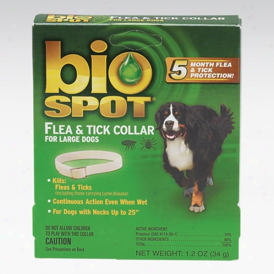 Bio Spot Flea And Tick Collar For Large Dogs (neck Less Than 25 In )