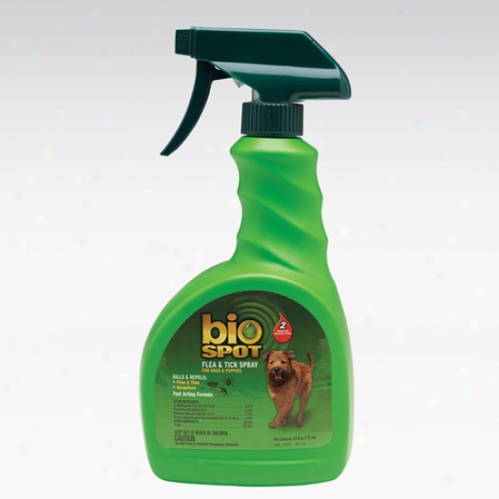 Bio Spot Flea And Tick Spray For Dogs And Puppies,2 4 Ounces