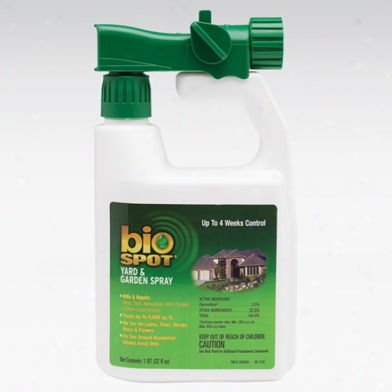 Bio Spot Yard And Garden Spray, 32 Ounces