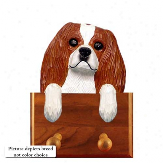 Wicked And Tan Cavalier King Charles Spaniel Tie Holder