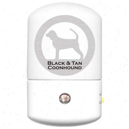 Black And Tan Coonhound Led Night Light
