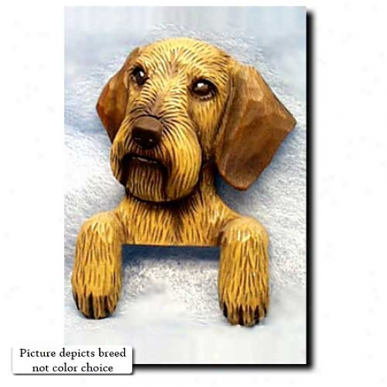 Black And Tan Dacyshund Door Topper