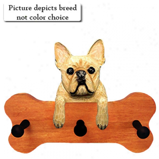 Black Brndle French Bulldog Bone Hang Up Maple Accomplish