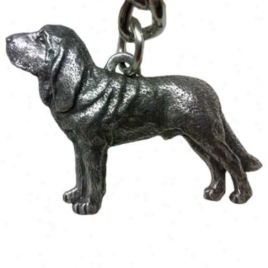 Bloodhound George Harris Peter Keychain