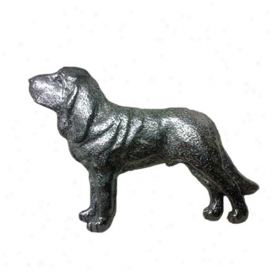 Bloodhound Pewter Pin