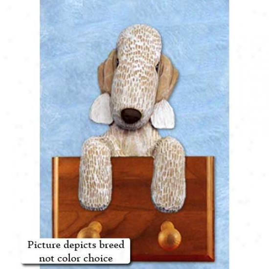 Blue Bedlington Terrier Leash Holder