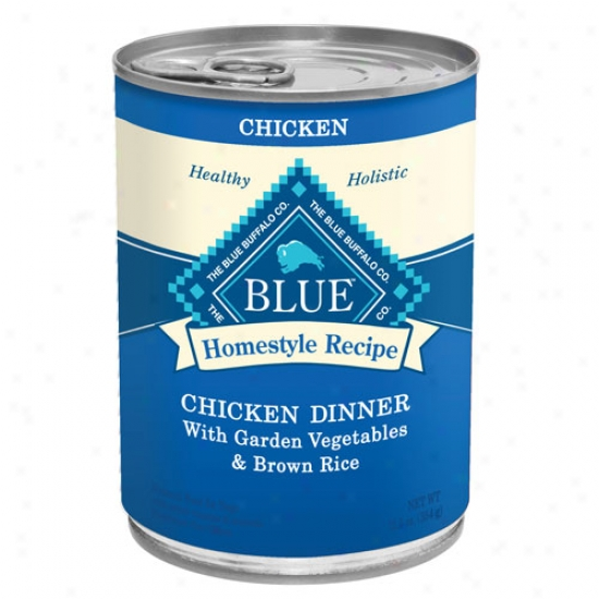 Blue Buffalo Homestyle Recipes - Chicken Case Of 12 12.5oz Cans