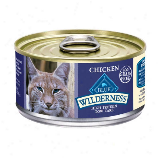 Blue Buffalo Wild Chicoen Cat Food 3oz Question Of 24 Cans