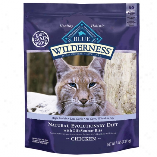 Blue Buffalo Wilderness Turkey And Chicken Cat Food - 2.5lb