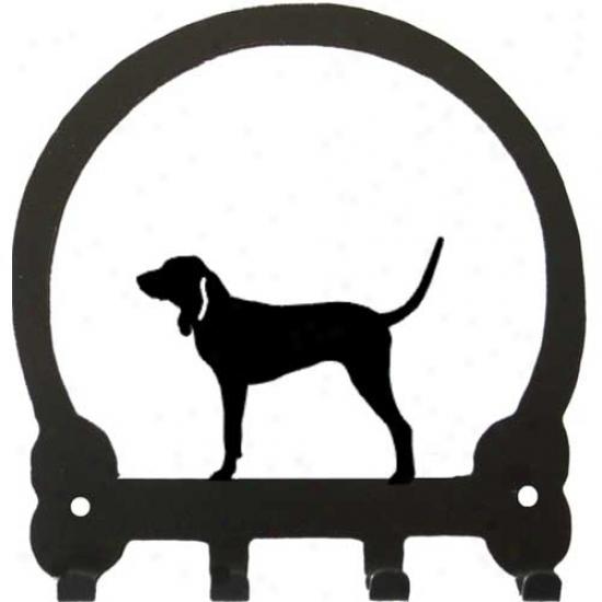Bluetick Coonhound Key Rack By Sweeney Ridge
