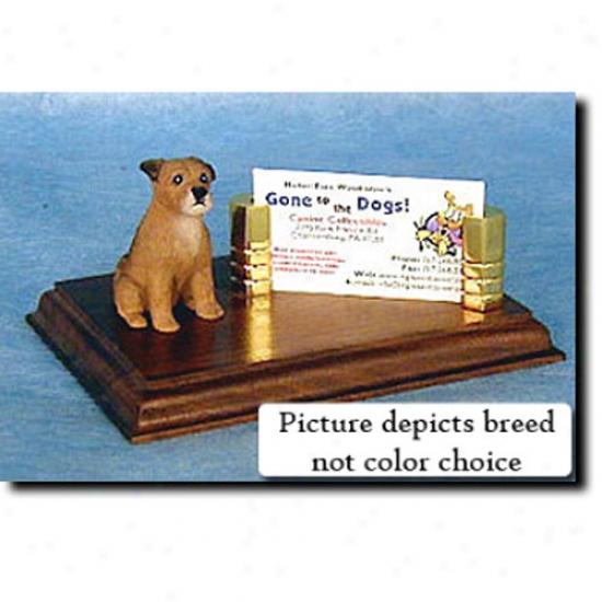 Border Terrier (fanw Business Card Holder