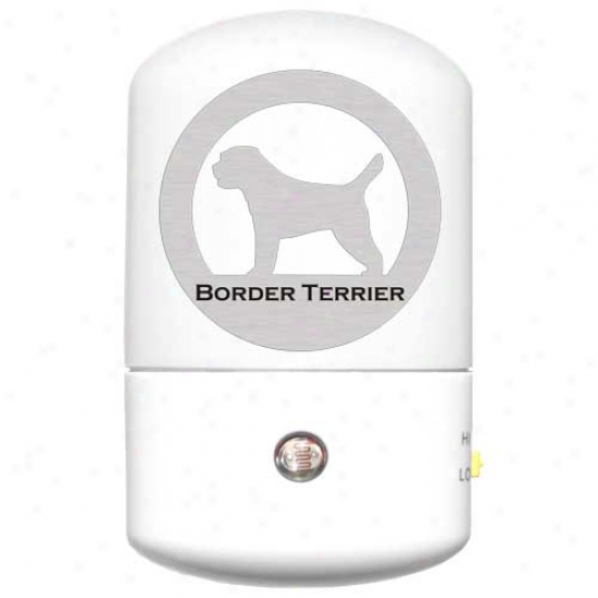 Border Terrier Led Night Light