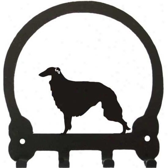 Borzoi Key Rack By Sweeney Ridge