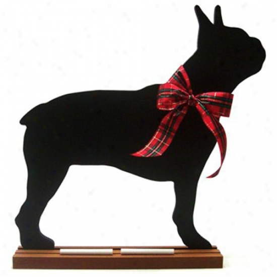 Boston Terrier Blackboard - Wall Model