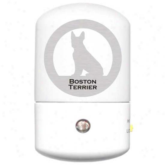 Boston Terrier Led Night Light