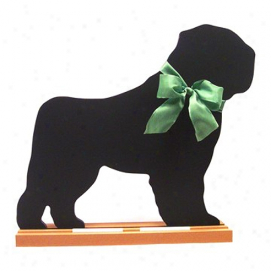 Bouvier Des Flandres Blackboard - Wall Model