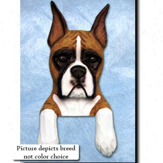 Brindle Boxer Door Topper