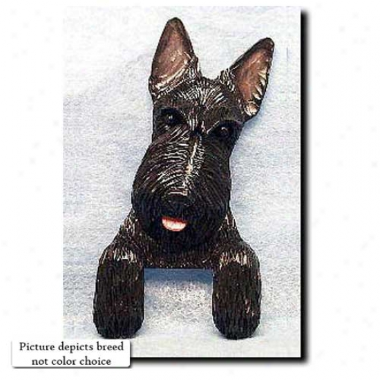 Brindle Scottish Terrier Door Topper
