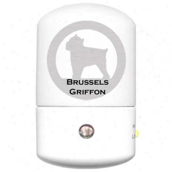 Brussels Griffon Led Night Light