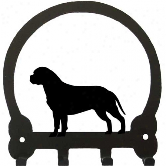 Bullmastiff Key Rack By Sweeney Ridge