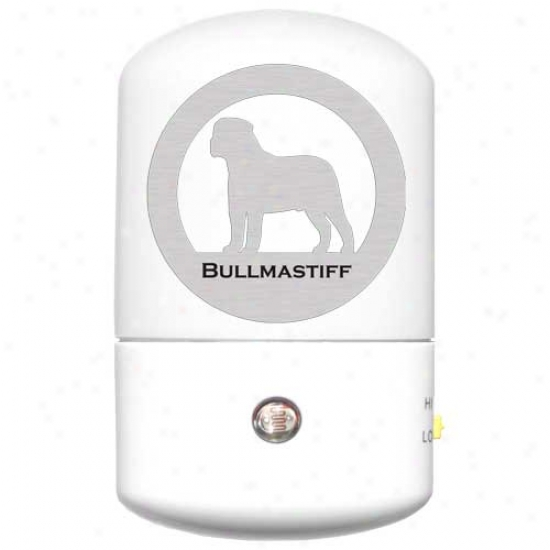 Bullmastiff Led Night Light