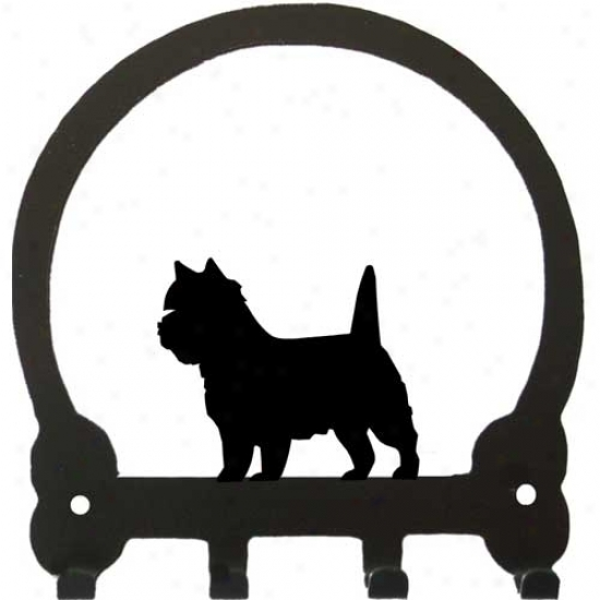 Cairn Terrier Key Rack By Sweeney Ridge
