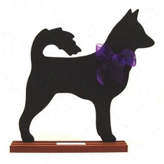 Canaan Dog Blackboard - Table  Image