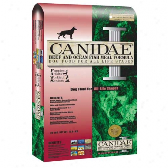 Canidae Beef And Fish Dog Food 15lb (oversize)