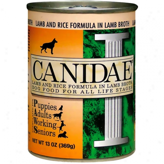 Canidae Lamb And Rice Dog Food 13oz Case Of 12 Cans
