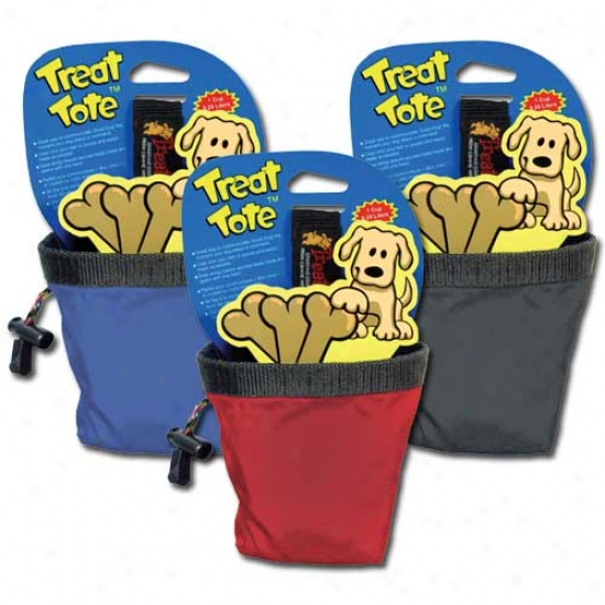 Canine Hardware Treat Tote Small Dog Pleasure Pouch- Assorted Flag