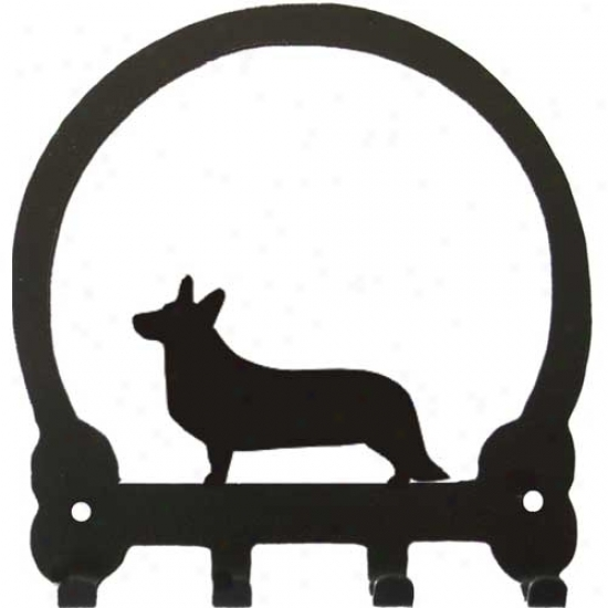 Cardigan Welsh Corgi Key Rack Bt Sweeney Ridge