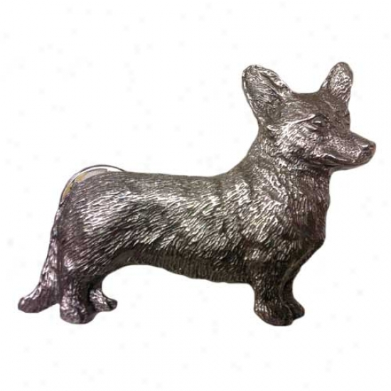 Cardigan Welsh Corgi Pewter Pin