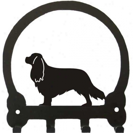 Cavalier King Charles Spaniel Key Rack By Sweeeny Ridge