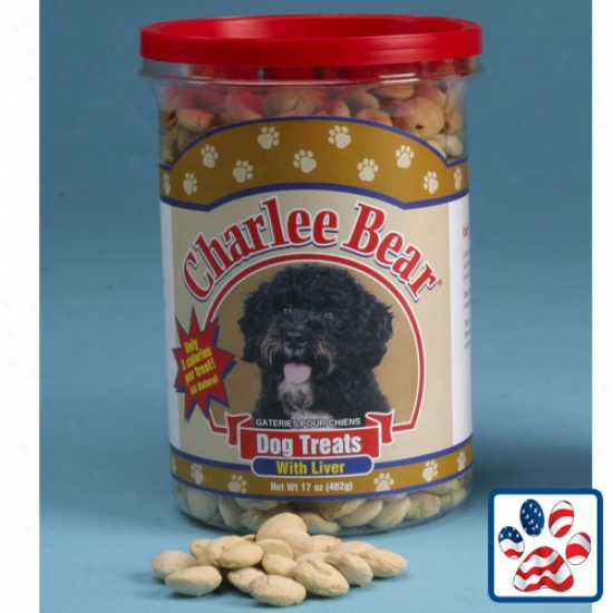 Charlee Bear Liver Treats 17oz Jar