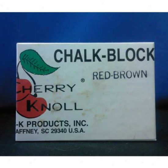 Cherry Knoll Chalk Blpck Red Brown