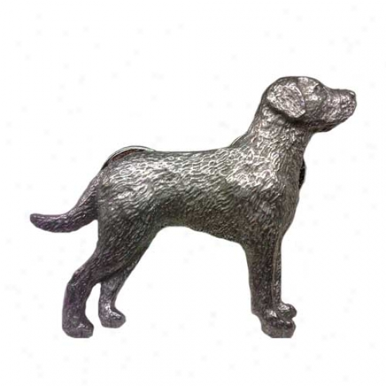 Chesapeake Bay Retriever Pewter Pin