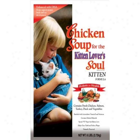 Chicken Soup For The Kitten Lovers Soul 5.5oz Case Of 24 Cans