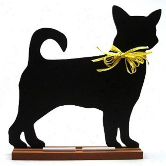 Chihuahua (smooth Coat) Blackboard - Table  Model