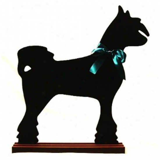 Chinese Crested Blackboard - Wall Model