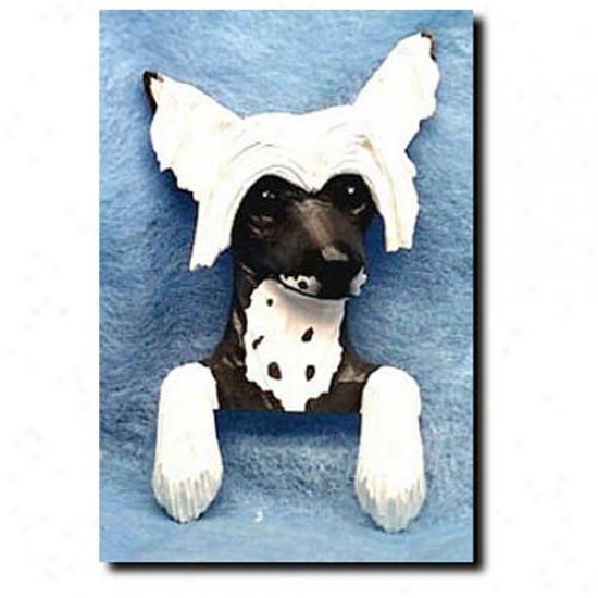 Chinese Crested Door Topper
