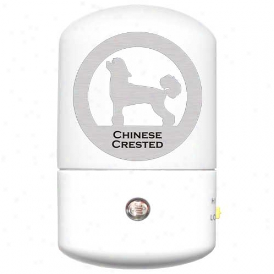Chinese Crested Led Night Light