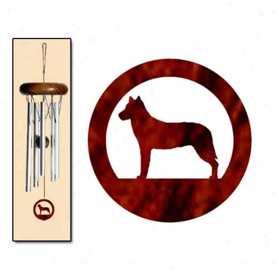 Chinook Wind Chimes X-small Silver