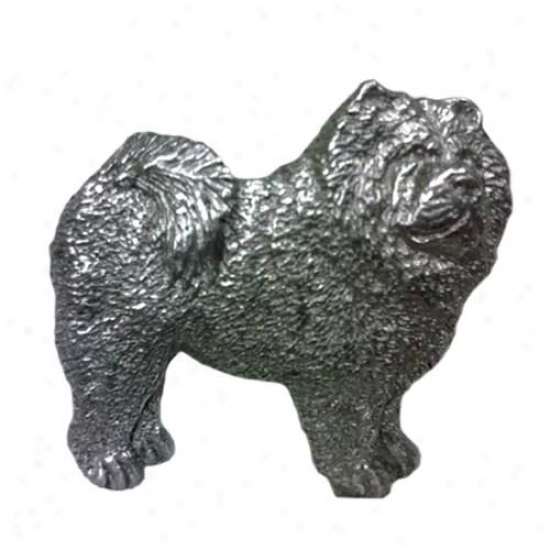 Chow Chow Pewter Pin