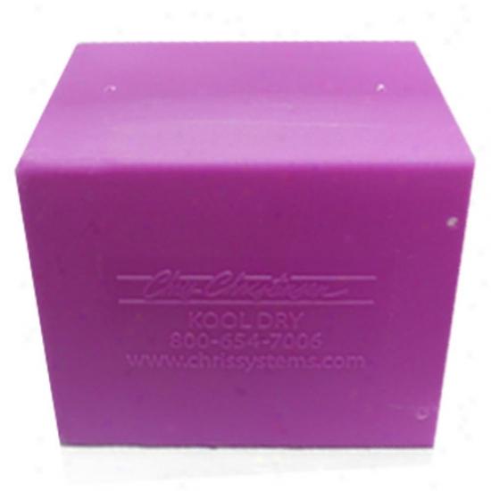 Chris Christensen Kool Dry Dryer Purple Box