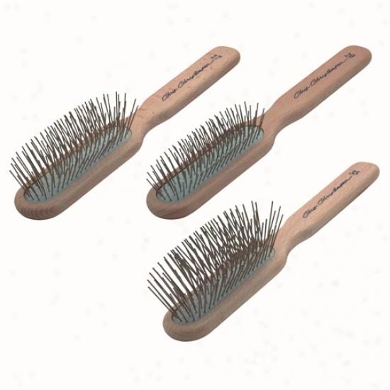 Chris Christensen Oblong Pin Brush / Medium 27mm
