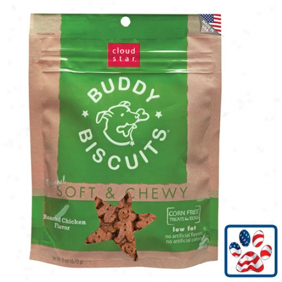Cloudstar Soft And Chewy Buddy Biscuit Chicken 6oz