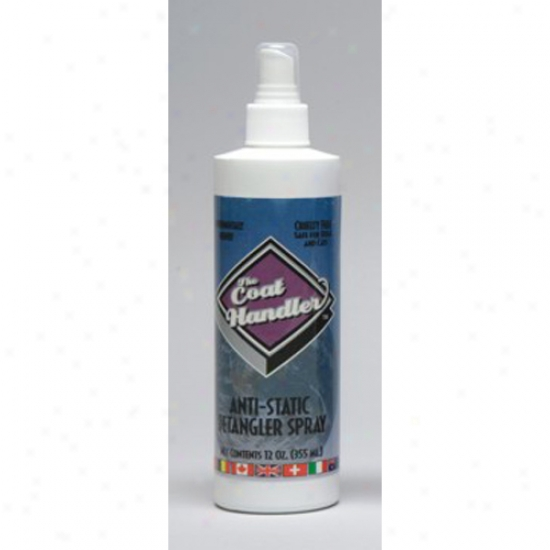Coat Handler Antistatic Detangler Foam 12oz